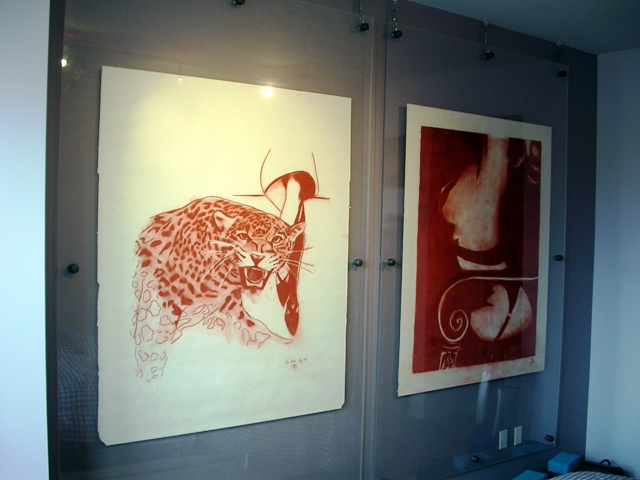 How To Frame and Hang Very Big Drawings – art.dblock.org | art blog